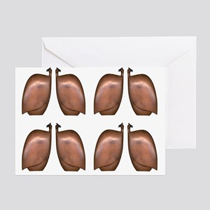 Guinea fowl - Greeting Cards (Pk of 20)