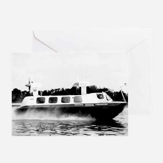 HD2 Hovercraft, 1967 - Greeting Cards (Pk of 20)