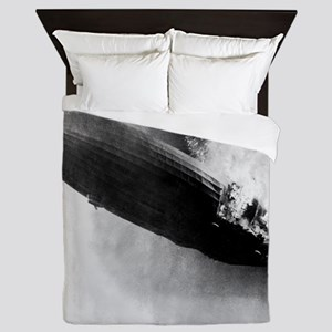 Burning Zeppelin Queen Duvet