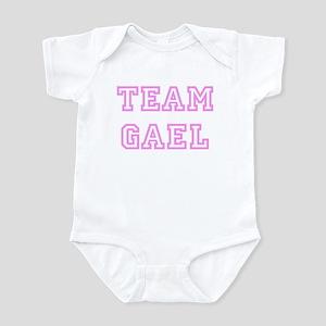 Pink team Gael Infant Bodysuit