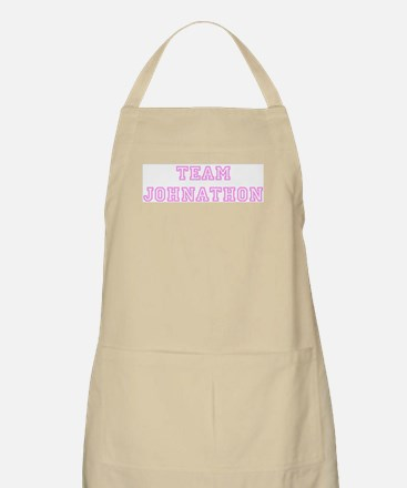 Pink team Johnathon BBQ Apron