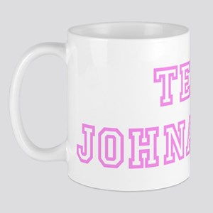 Pink team Johnathan Mug