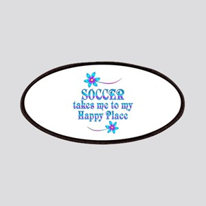 Soccer My Happy Place Patch