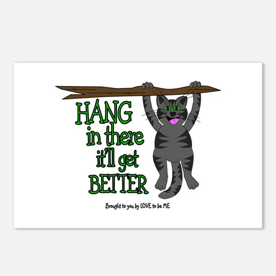 HANG IN THERE - IT'LL GET BETTER Postcards (Packag