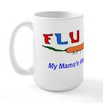 Flu Bug and Mama Large Mug