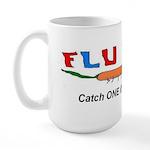 Flu Bug Catch One Large Mug