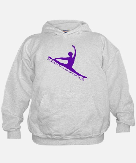 Cute To dance is to know how to fly Hoodie