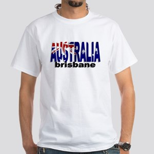 Australia Brisbane White T-Shirt