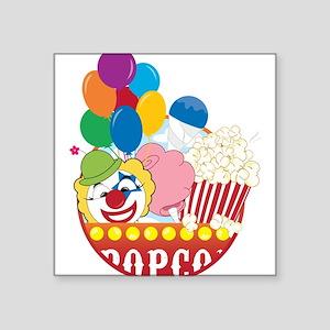 """Carnival Logo Square Sticker 3"""" x 3"""""""