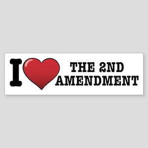 2nd amendment Sticker (Bumper)