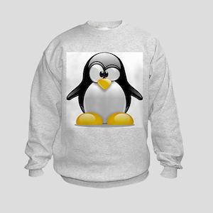 Tux the Penguin Kids Sweatshirt