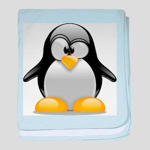 Tux the Penguin baby blanket