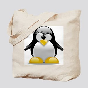 Tux the Penguin Tote Bag