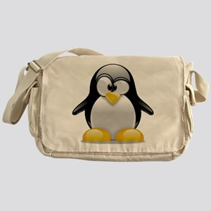 Tux the Penguin Messenger Bag