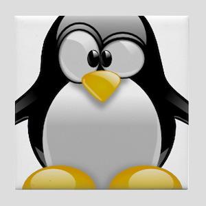Tux the Penguin Tile Coaster