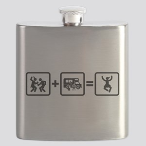 RV Enthusiast Flask