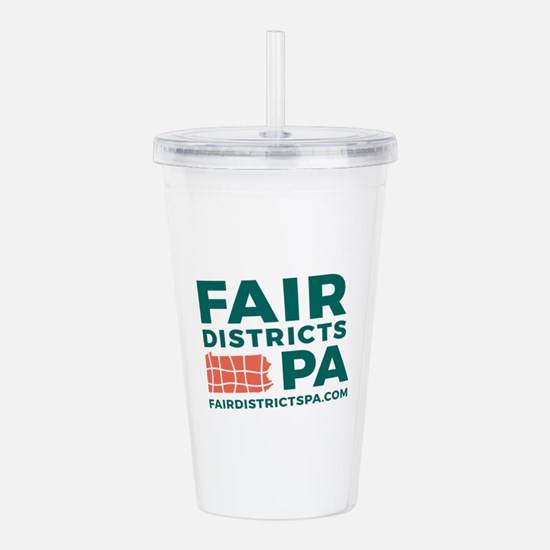 Fair Districts PA Acrylic Double-wall Tumbler
