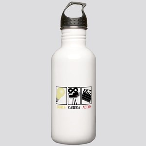Lights Camera Action Stainless Water Bottle 1.0L
