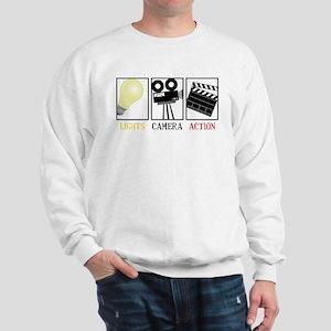 Lights Camera Action Sweatshirt