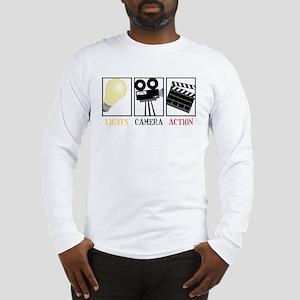 Lights Camera Action Long Sleeve T-Shirt