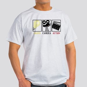 Lights Camera Action Light T-Shirt