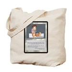 Closet Geek Card Tote Bag