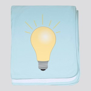 Light Bulb baby blanket