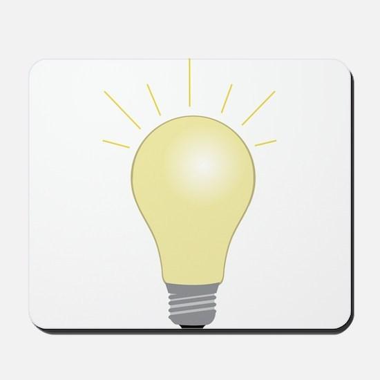 Light Bulb Mousepad