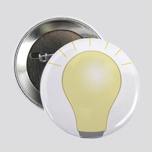 """Light Bulb 2.25"""" Button"""