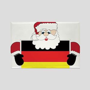 Santa In Germany Rectangle Magnet
