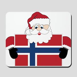 Santa In Norway Mousepad