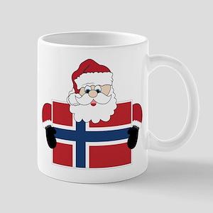 Santa In Norway Mug
