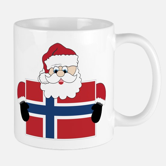 Santa In Norway Mug