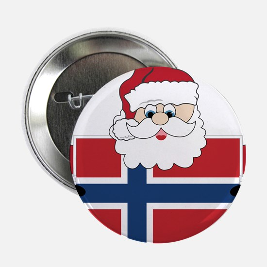 "Santa In Norway 2.25"" Button"