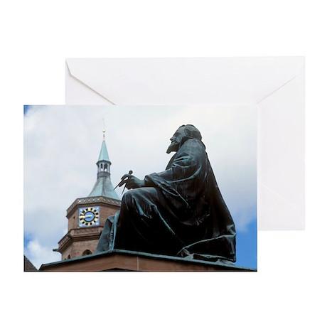 Johannes Kepler monument, Germany - Greeting Card