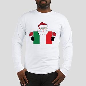 Santa In Italy Long Sleeve T-Shirt