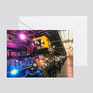 PEP-II particle collider, SLAC - Greeting Card