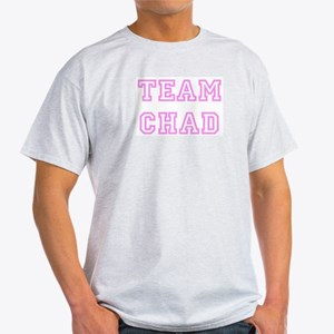 Pink team Chad Ash Grey T-Shirt