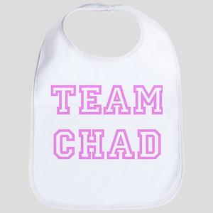 Pink team Chad Bib