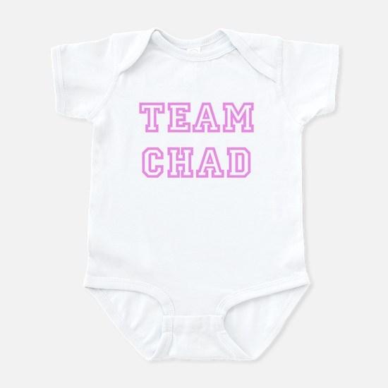 Pink team Chad Infant Bodysuit