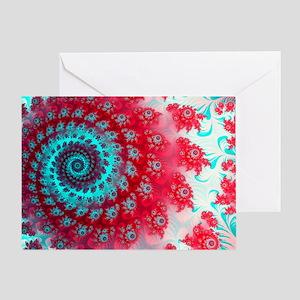 Ju lia fractal - Greeting Card