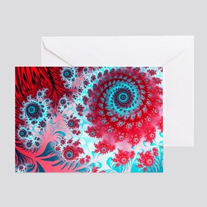 Julia fractal - Greeting Card