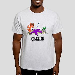 Cartoon Starfish by Lorenzo T-Shirt