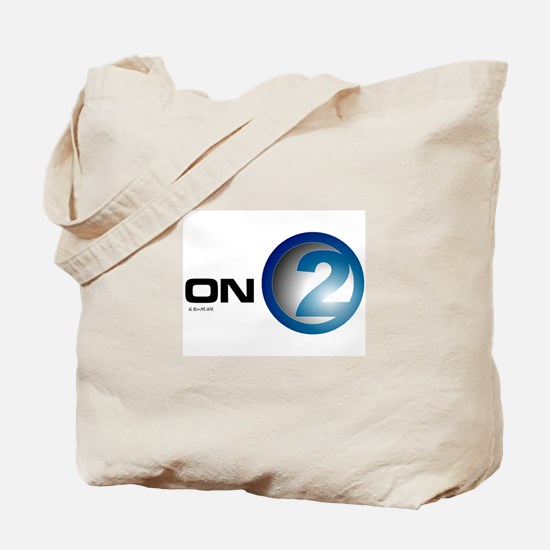 """on2"" Tote Bag"