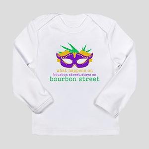 What Happens on Bourbon Street Long Sleeve Infant