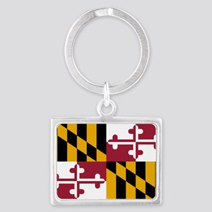 Maryland flag Landscape Keychain