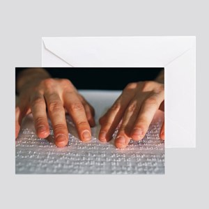 Braille - Greeting Card