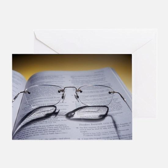 Bifocal glasses - Greeting Card