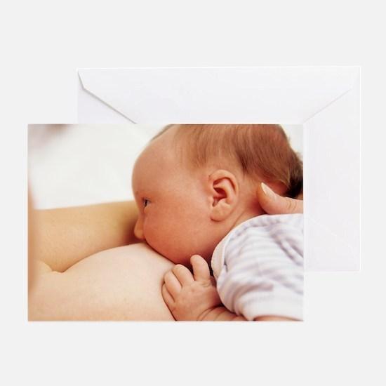 Breastfeeding - Greeting Card