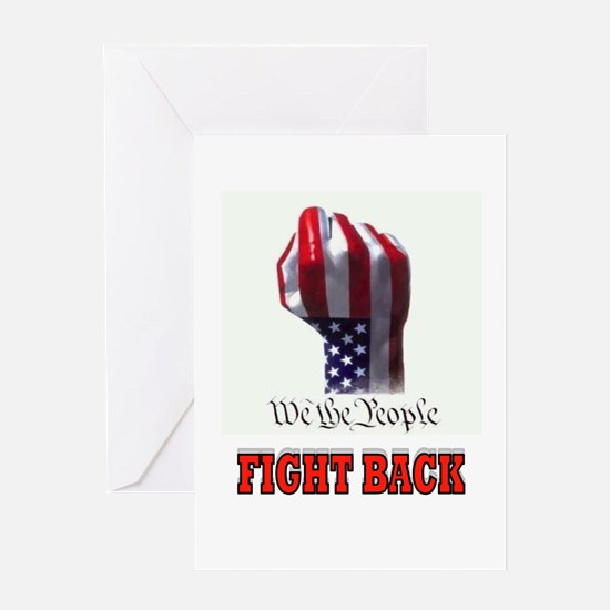 FIGHT BACK Greeting Card